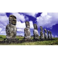 Voyage découverte Chili nord – Île de Pâques - SANTIAGO - VIGNOBLES DE SANTA CRUZ - VALPARAISO - CALAMA - DESERT D'ATACAMA - PARCS NATIONAUX ISLUGA ET LAUCA - ARICA - ÎLE DE PÂQUES  Votre voyage découverte démarre à Santiago et le port mythique de Valparaíso. Vous rejoindrez ensuite San Pedro de Atacama, d'où vous remonterez jusqu'à la frontière du Pérou à travers les paysages grandioses de l'Altiplano Chilien. La deuxième partie de votre voyage découverte se déroule sur l'île de Pâques, la plus isolée du Monde, à plus de 4000 km à l'Ouest du Chili, où règne une atmosphère si particulière...