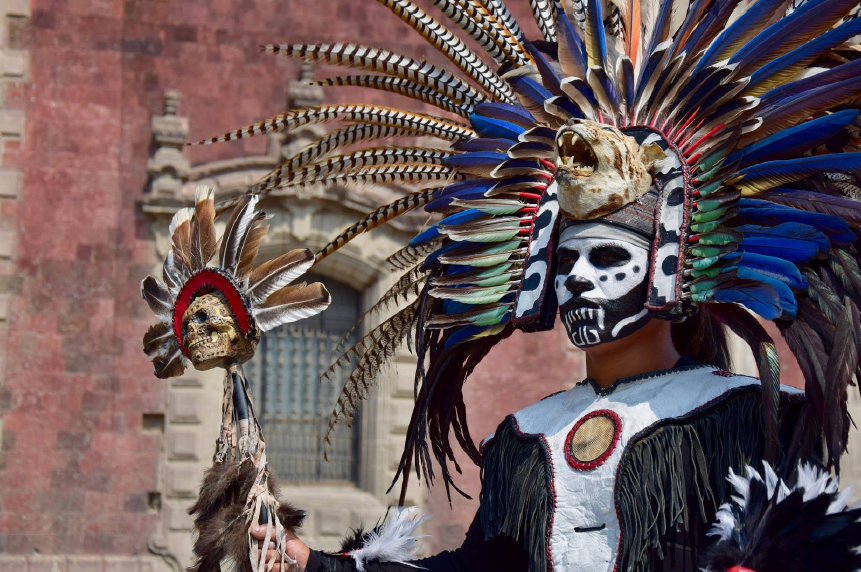 Peintures Mexique sur le Zócalo