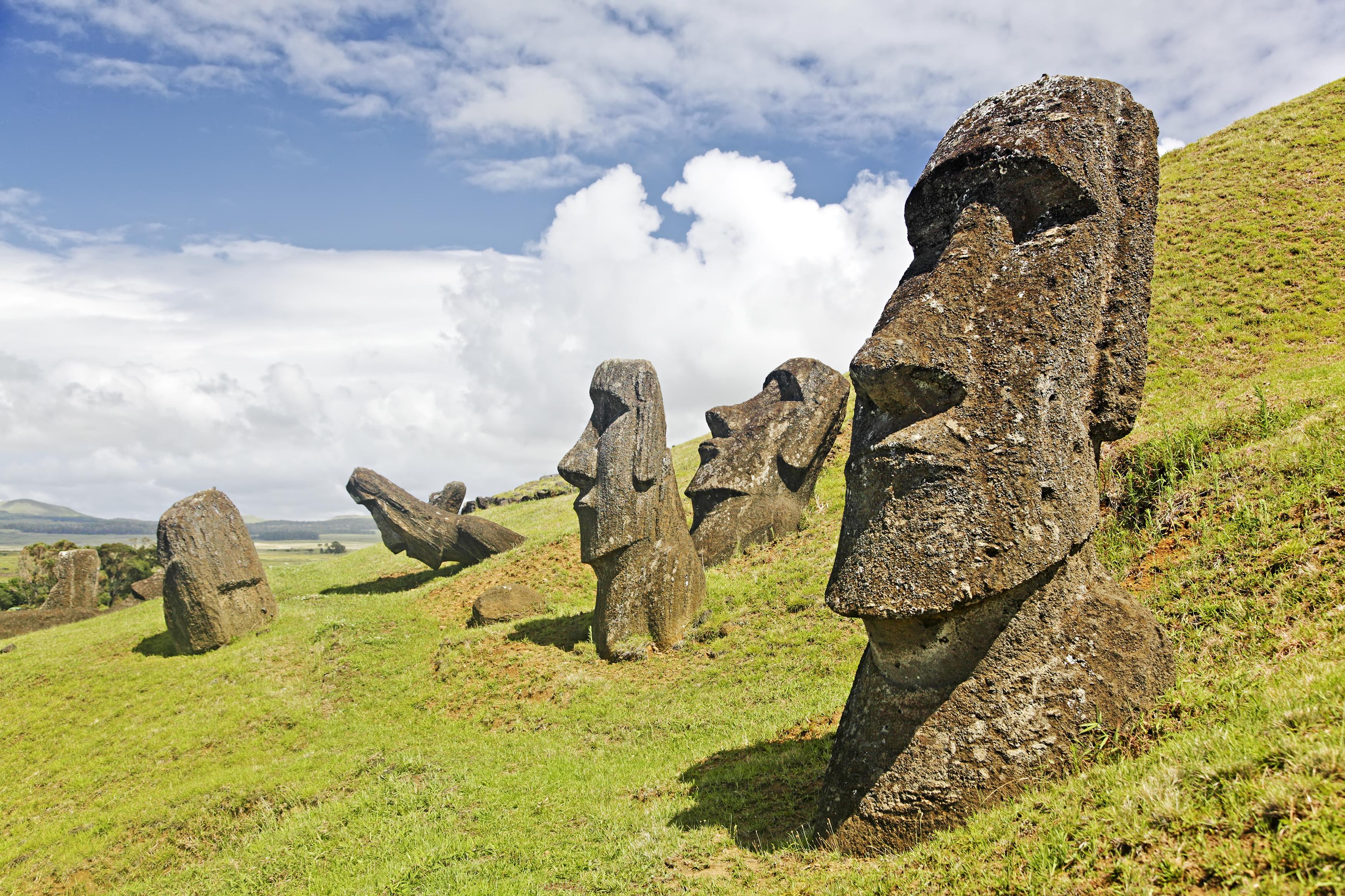 Ile de Paques - Rano Raraku