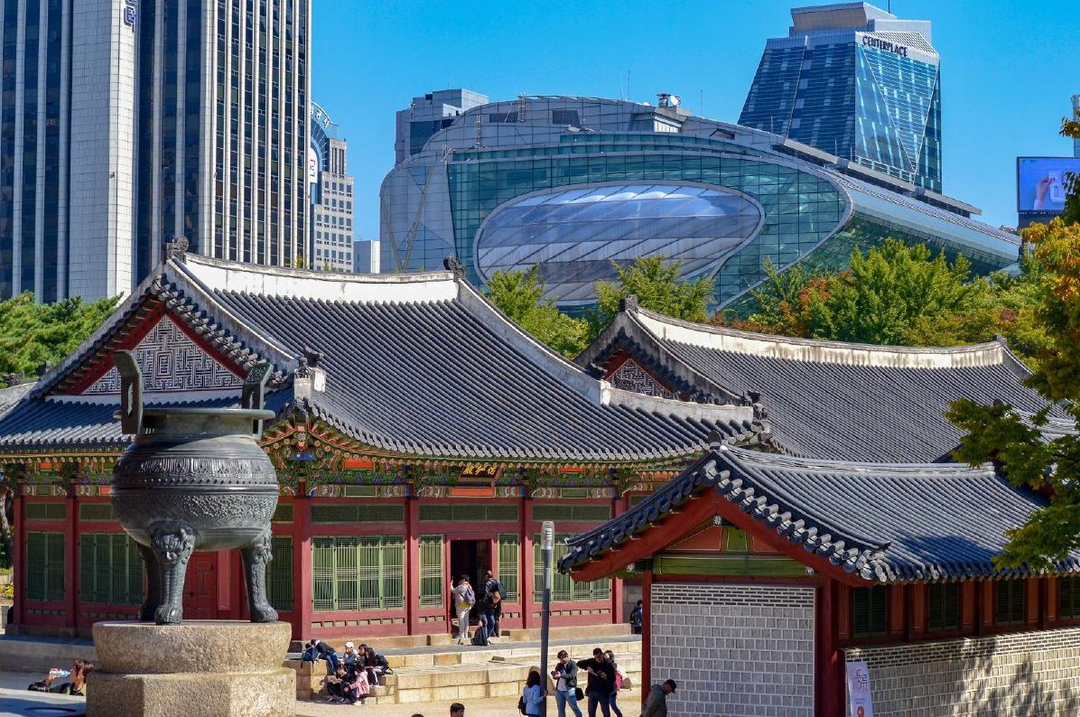 Palais de Deoksugung Corée du Sud