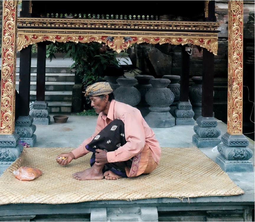 Photo d'un Balinais