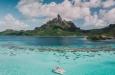 tropicale paradisiaque plage montagne
