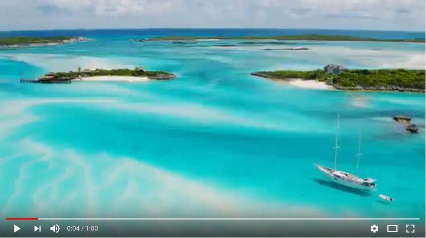 Vidéo youtube de l'Office de Tourisme des Bahamas