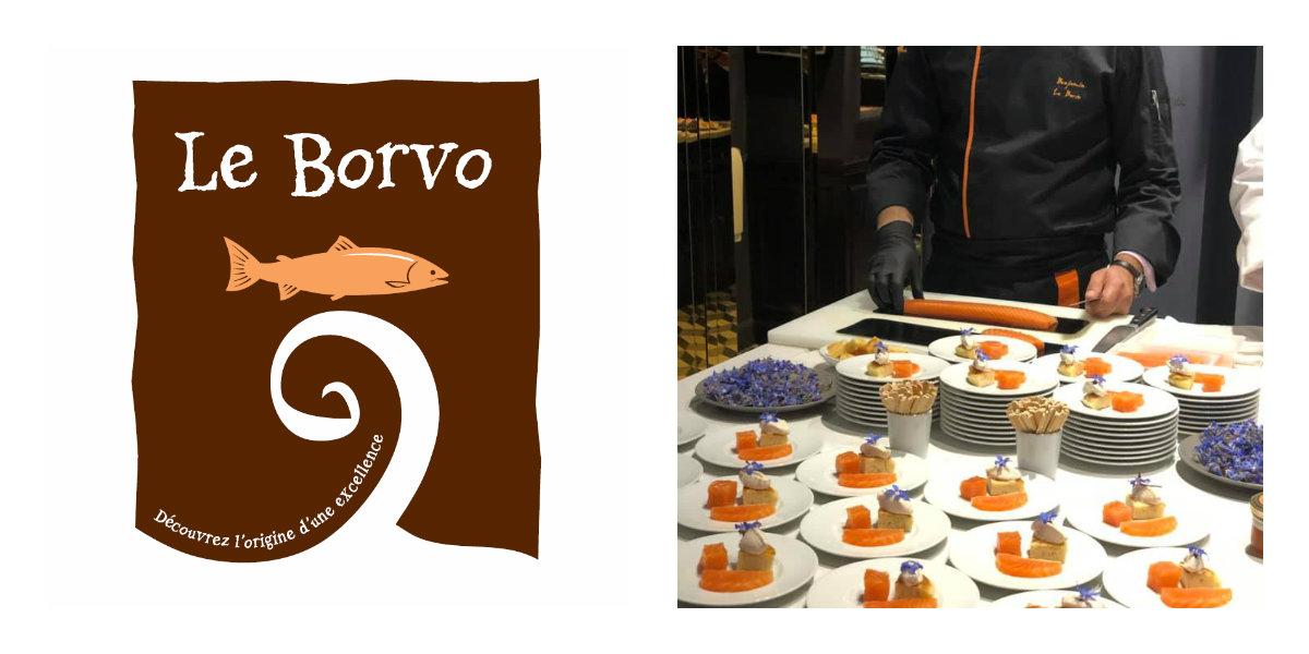 Le Borvo saumon